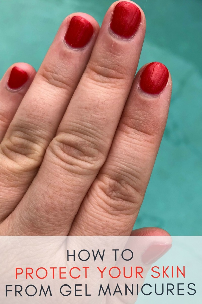 how to protect your skin from gel manicures