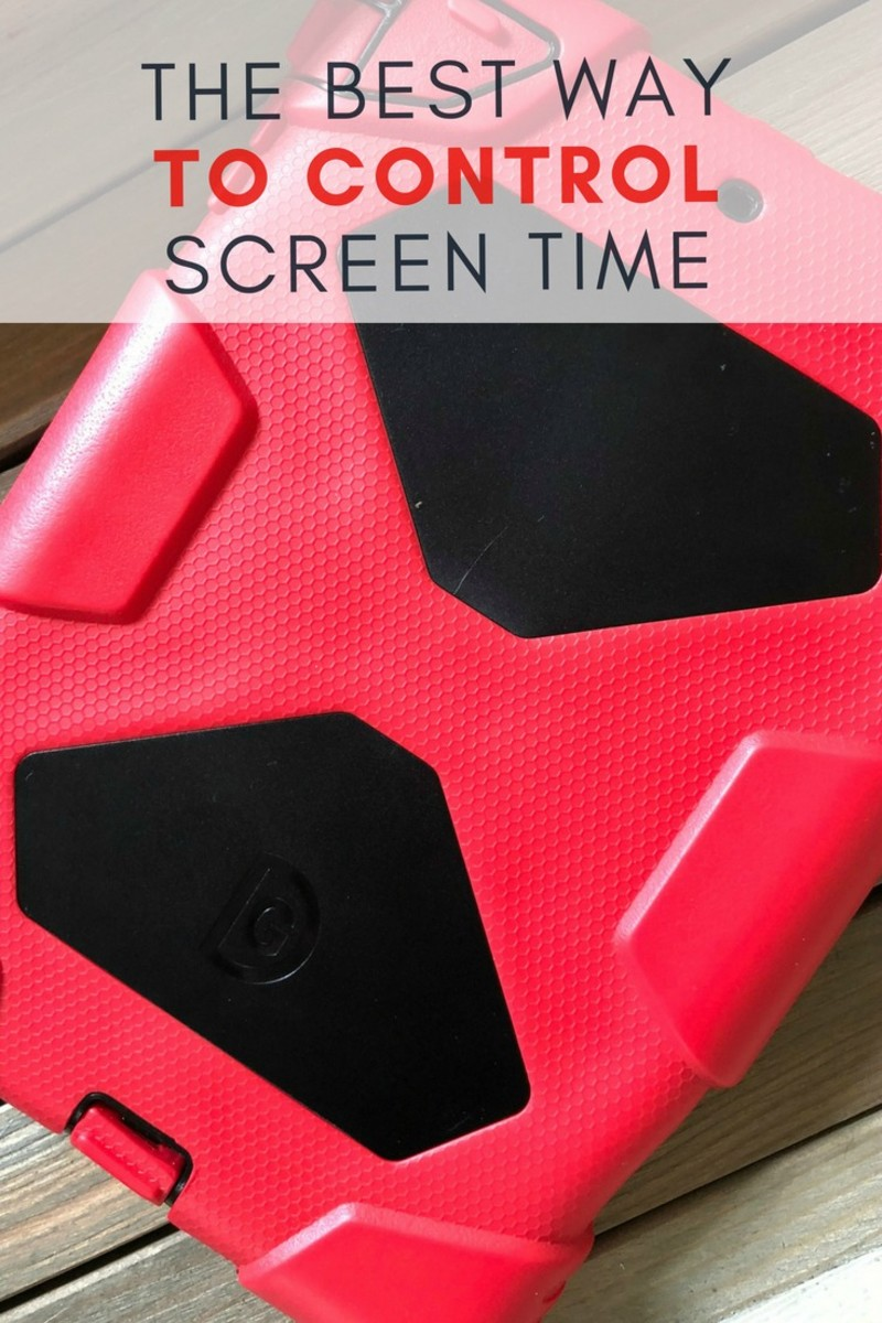 the best way to control screen time