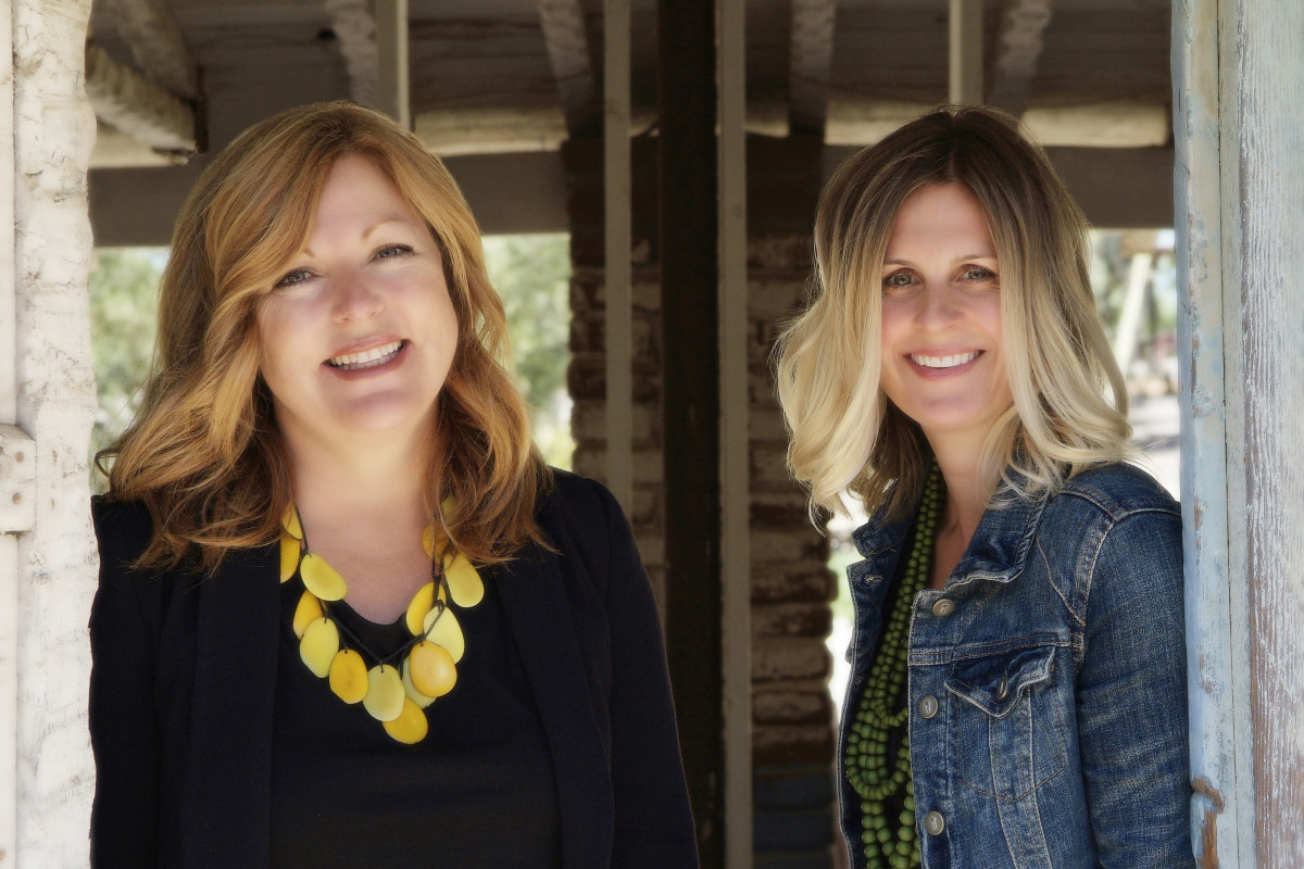 Bestselling co-authors Liz Fenton & Lisa Steinke
