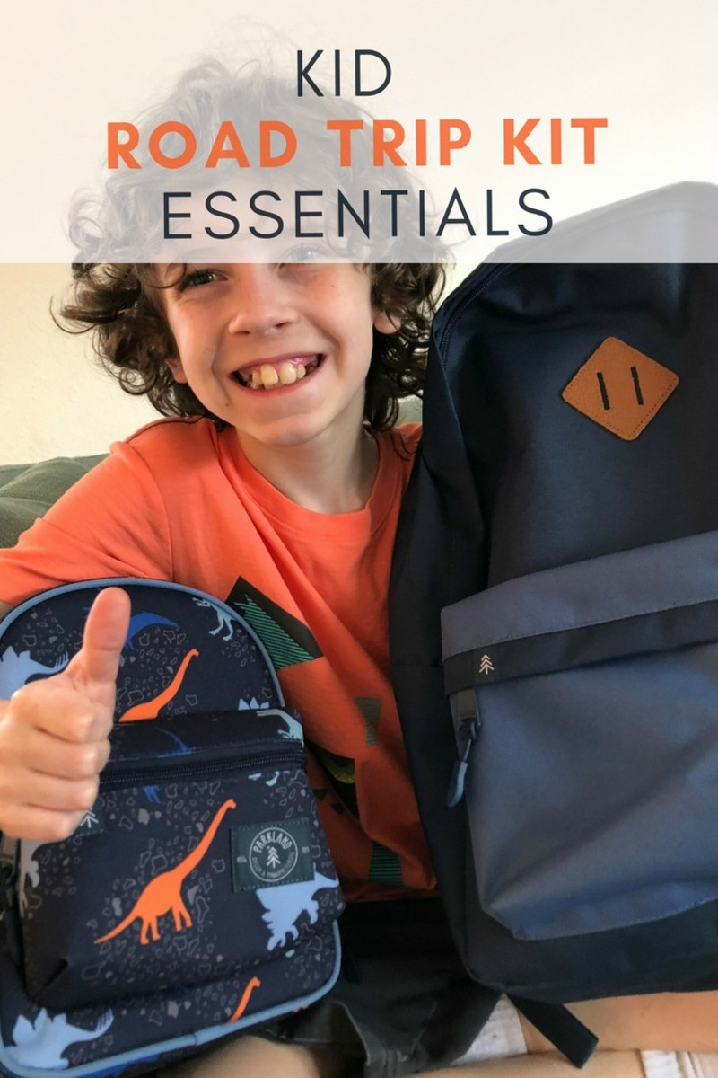 kid road trip kit essentials