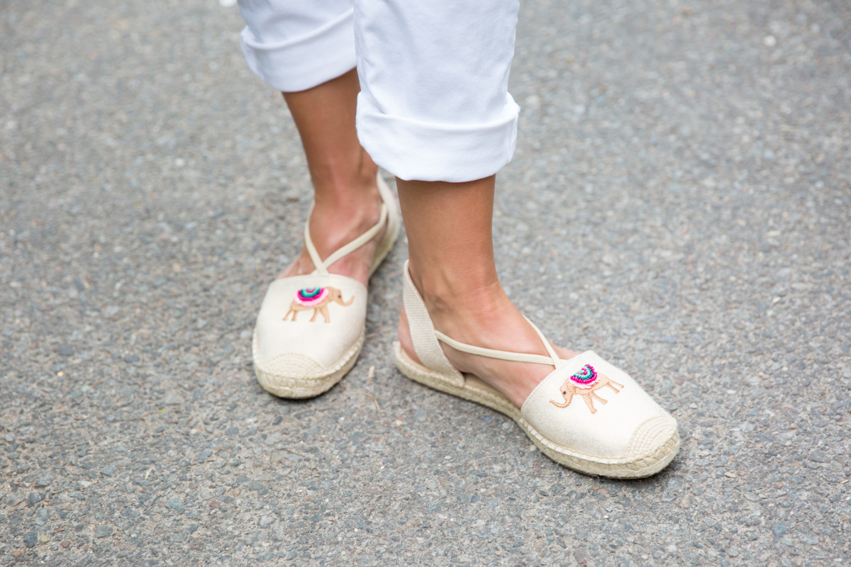 Elephant Espadrilles from Talbots