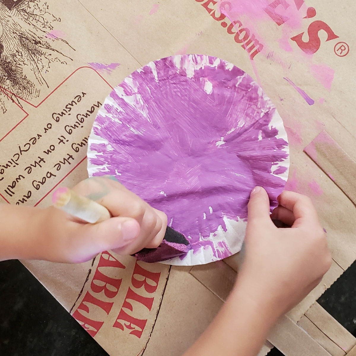 How to Make a Mermaid Tail - Cupcake Liner