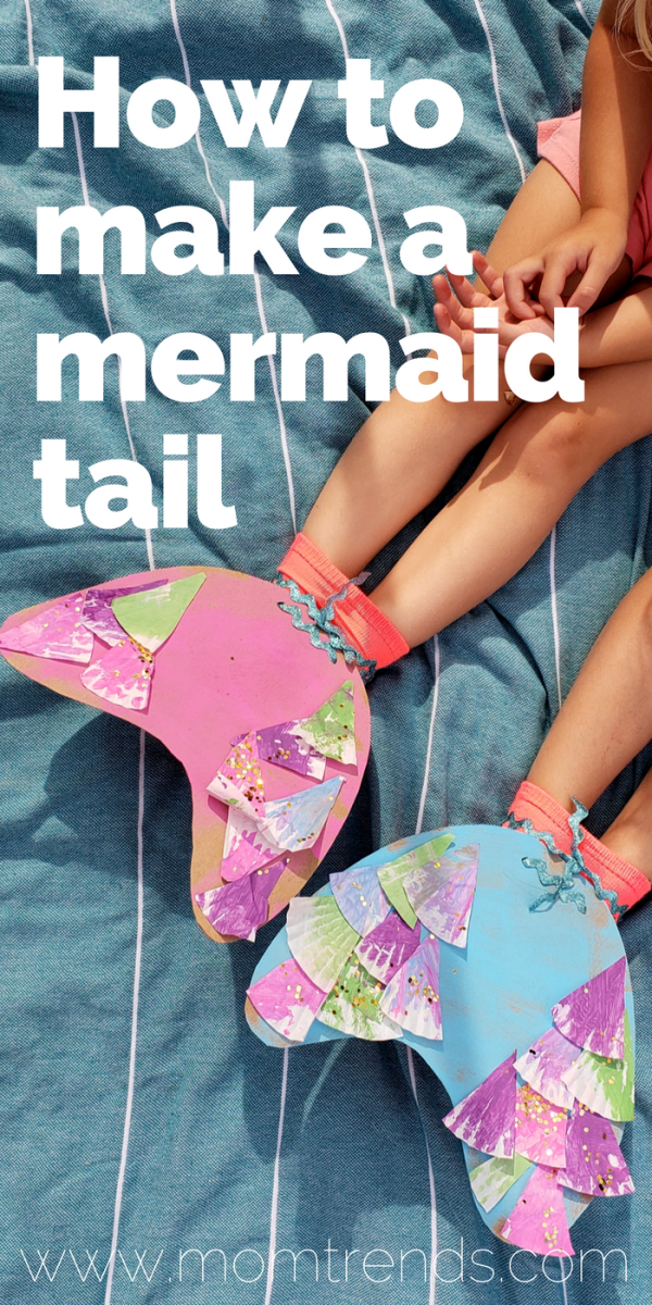 How to Make a Mermaid Tail - Pinterest