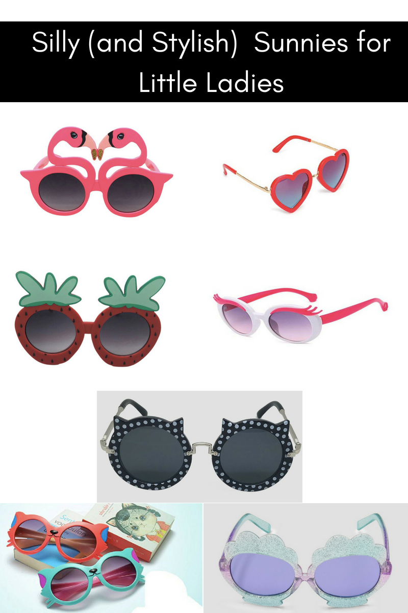 Silly (and Stylish) Sunnies for Little Ladies