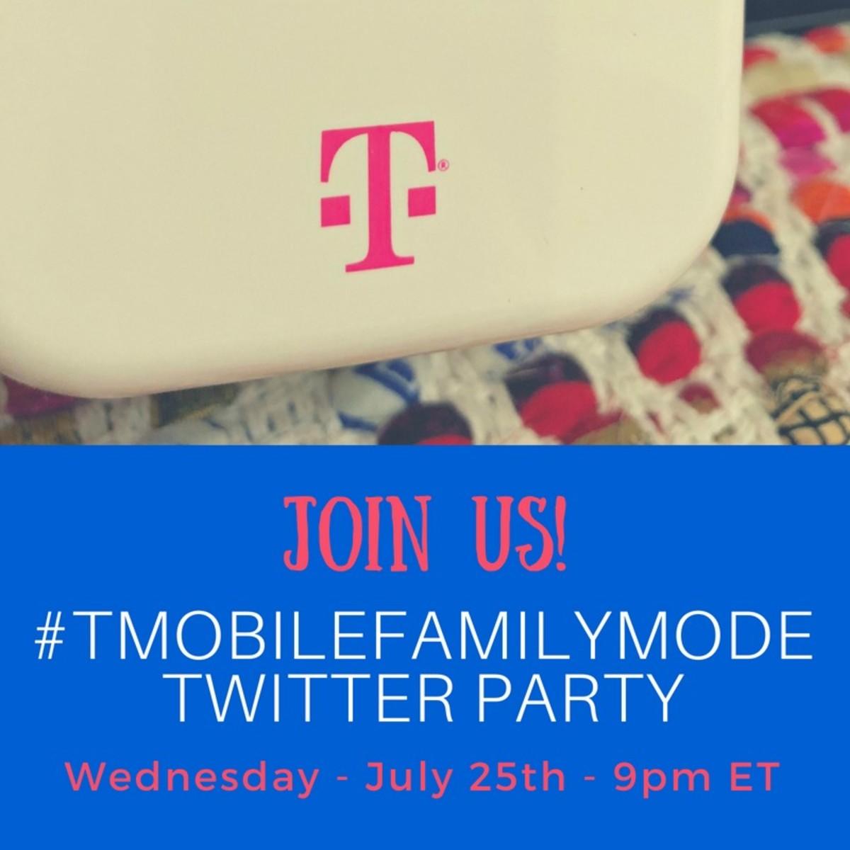 #TMobileFamilyMode Twitter party