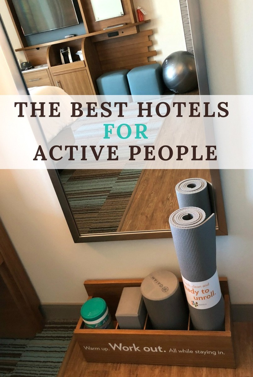 the best hotels for active people