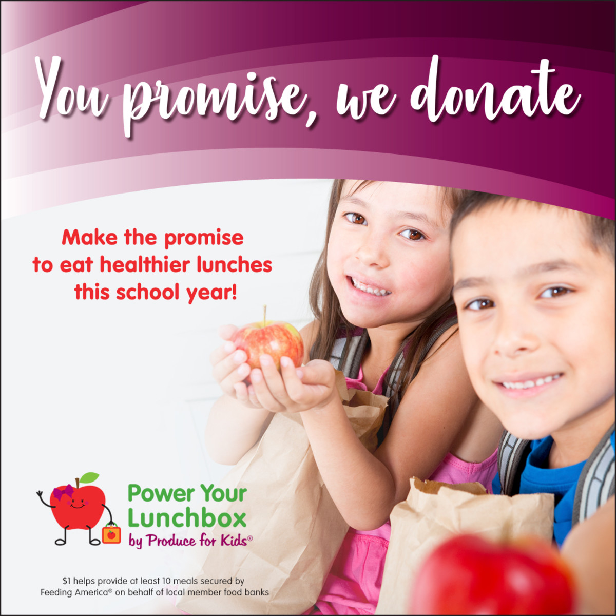 power your lunchbox, support families in need, food shortage, hungry kids, back to school, help feed children, produce for kids, kids healthy lunches, food banks, lunch for kids in need, helping children in need