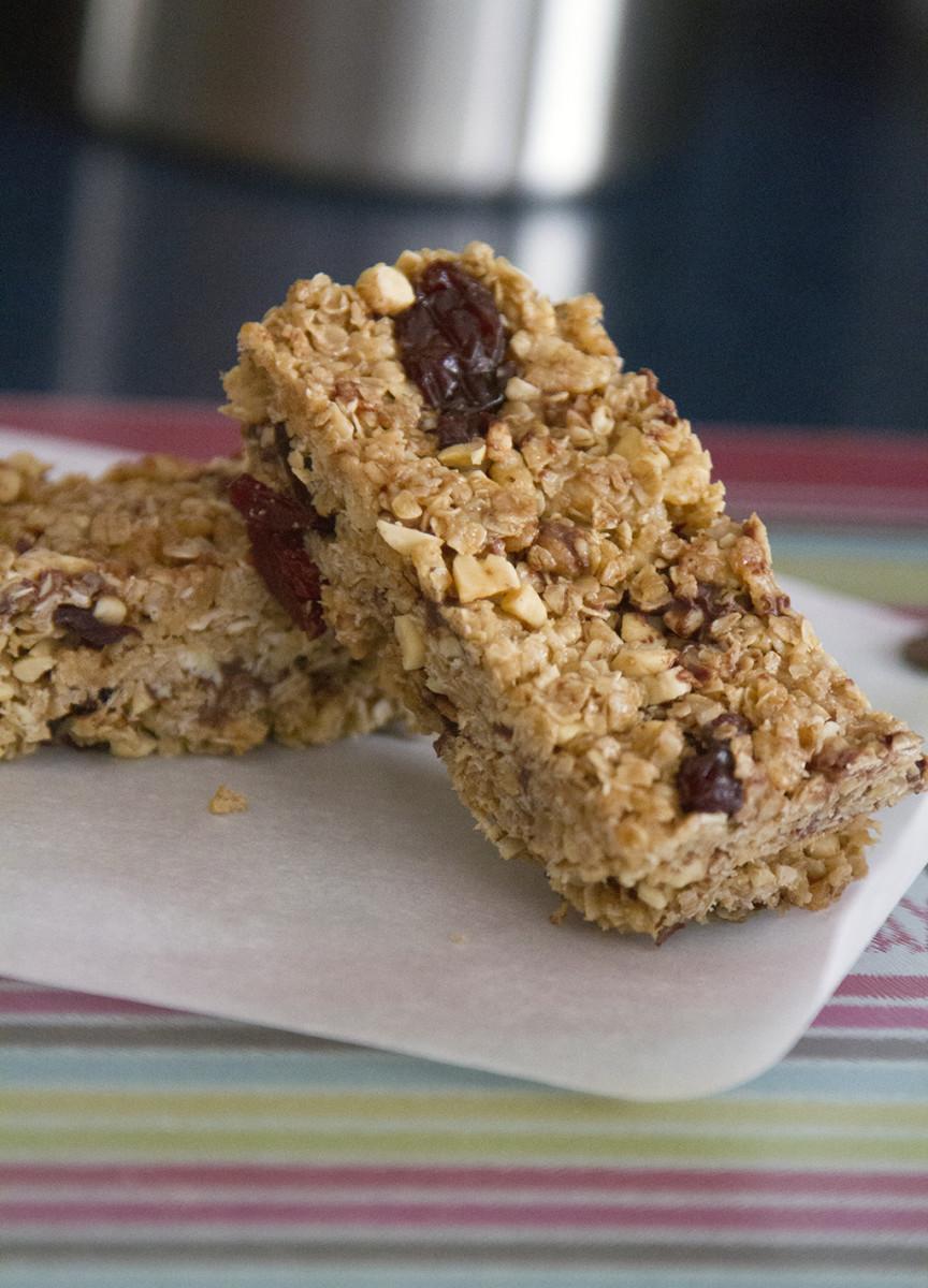 peanut butter energy bars