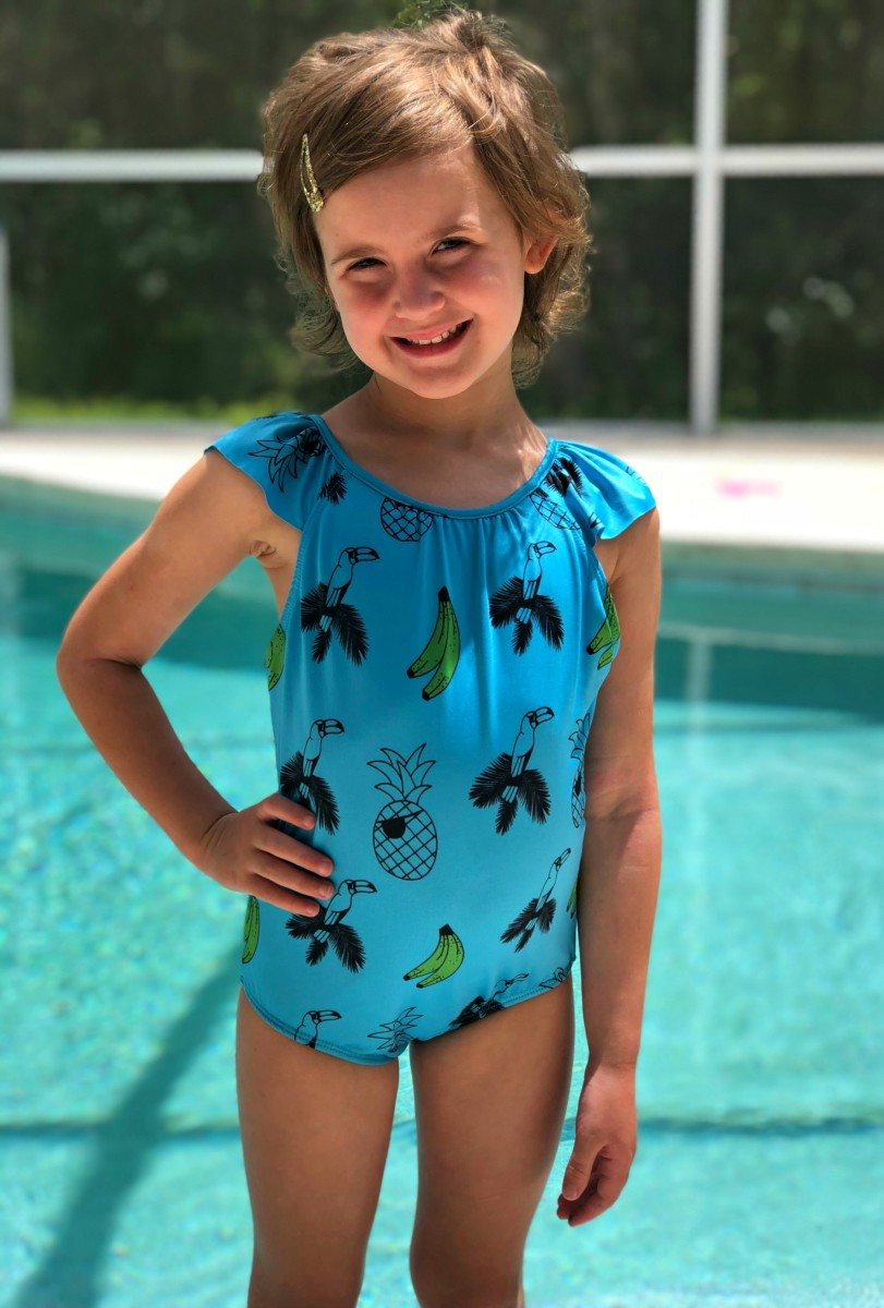 vintage kids swimsuit
