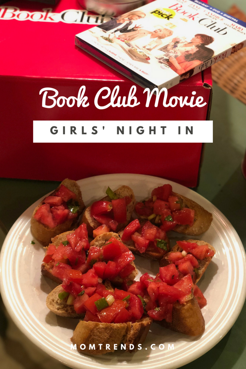 plan a Book Club Movie Girls' Night In party