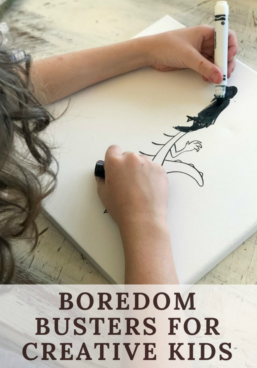 new boredom busters for creative kids