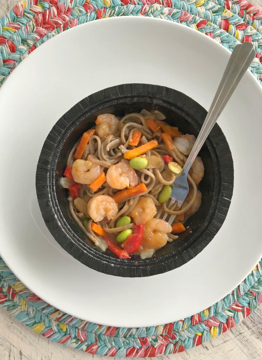 Gorton's soba noodle shrimp bowl