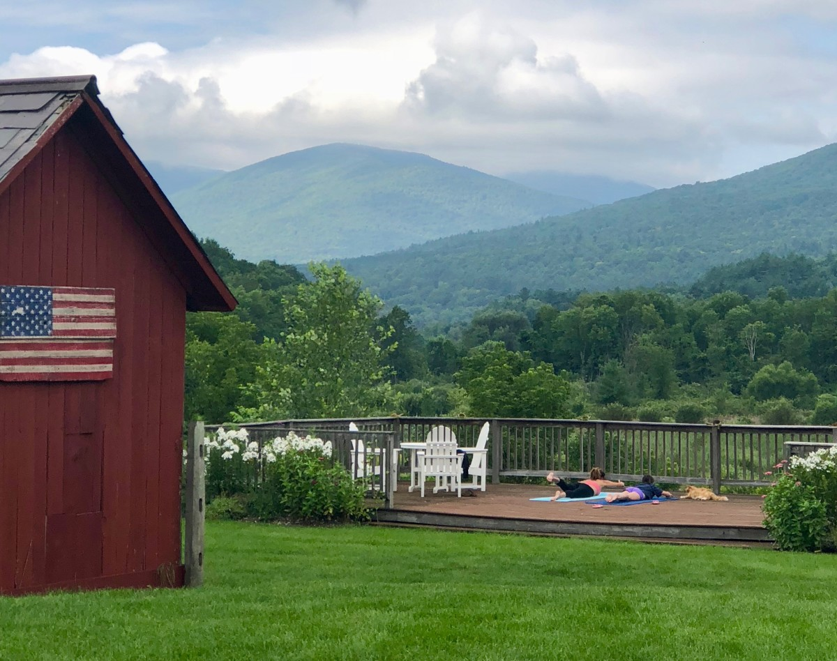 YOga at Hill Farm Inn