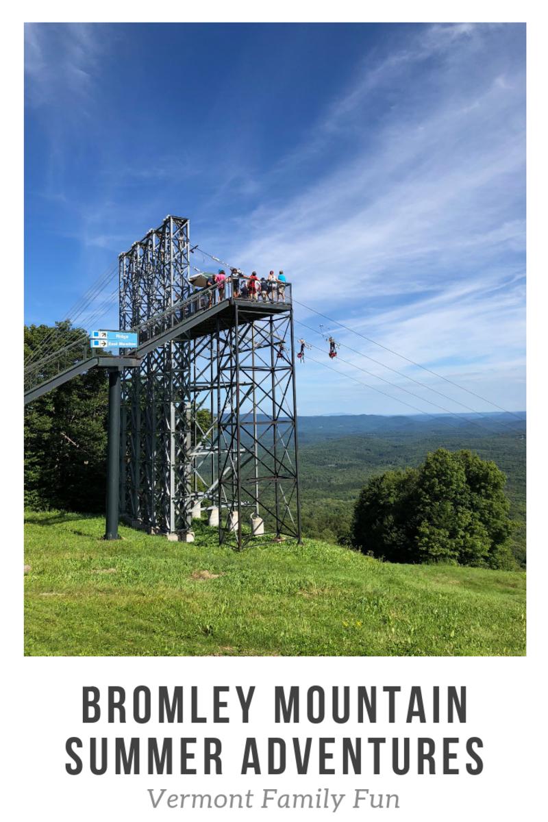 Bromley Mountain Vermont Summer Adventures