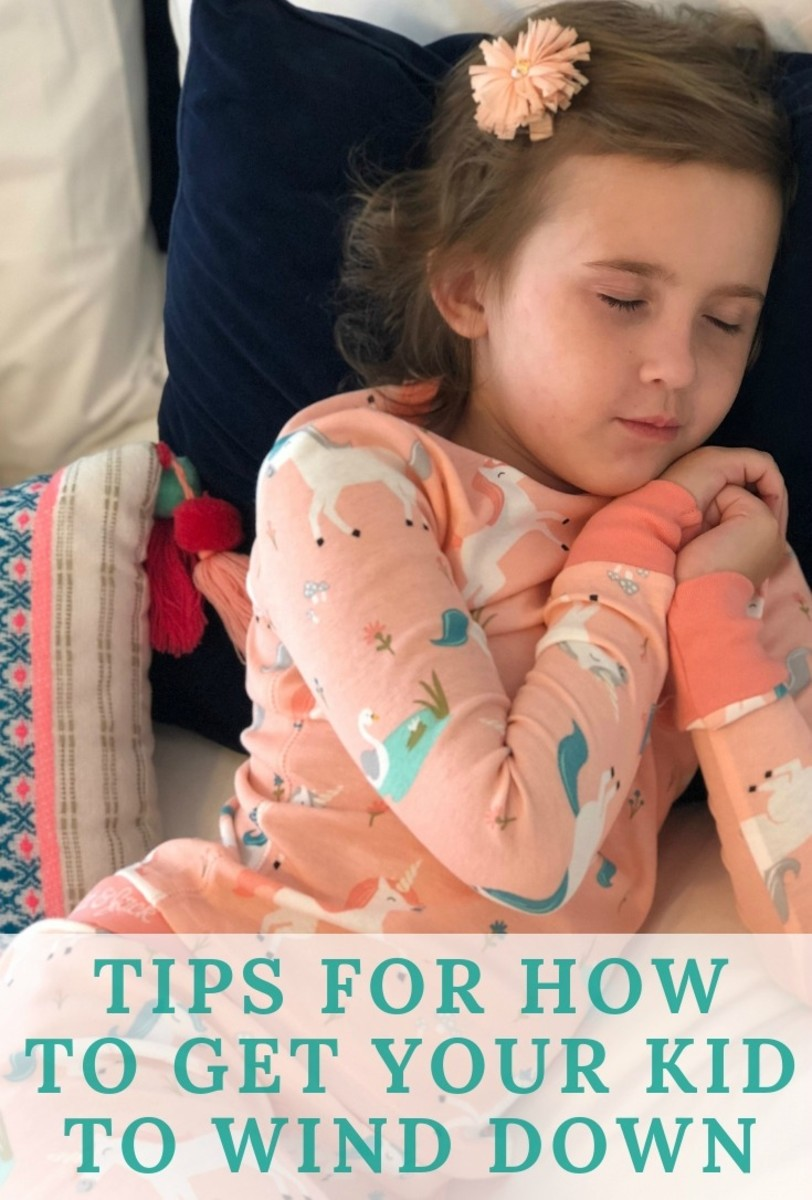 tips for how to get kids to wind down