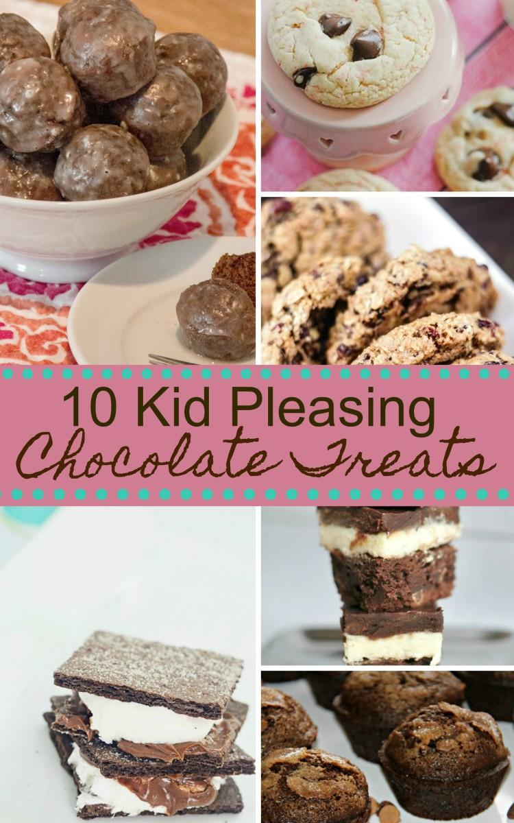 kid pleasing chocolate treats