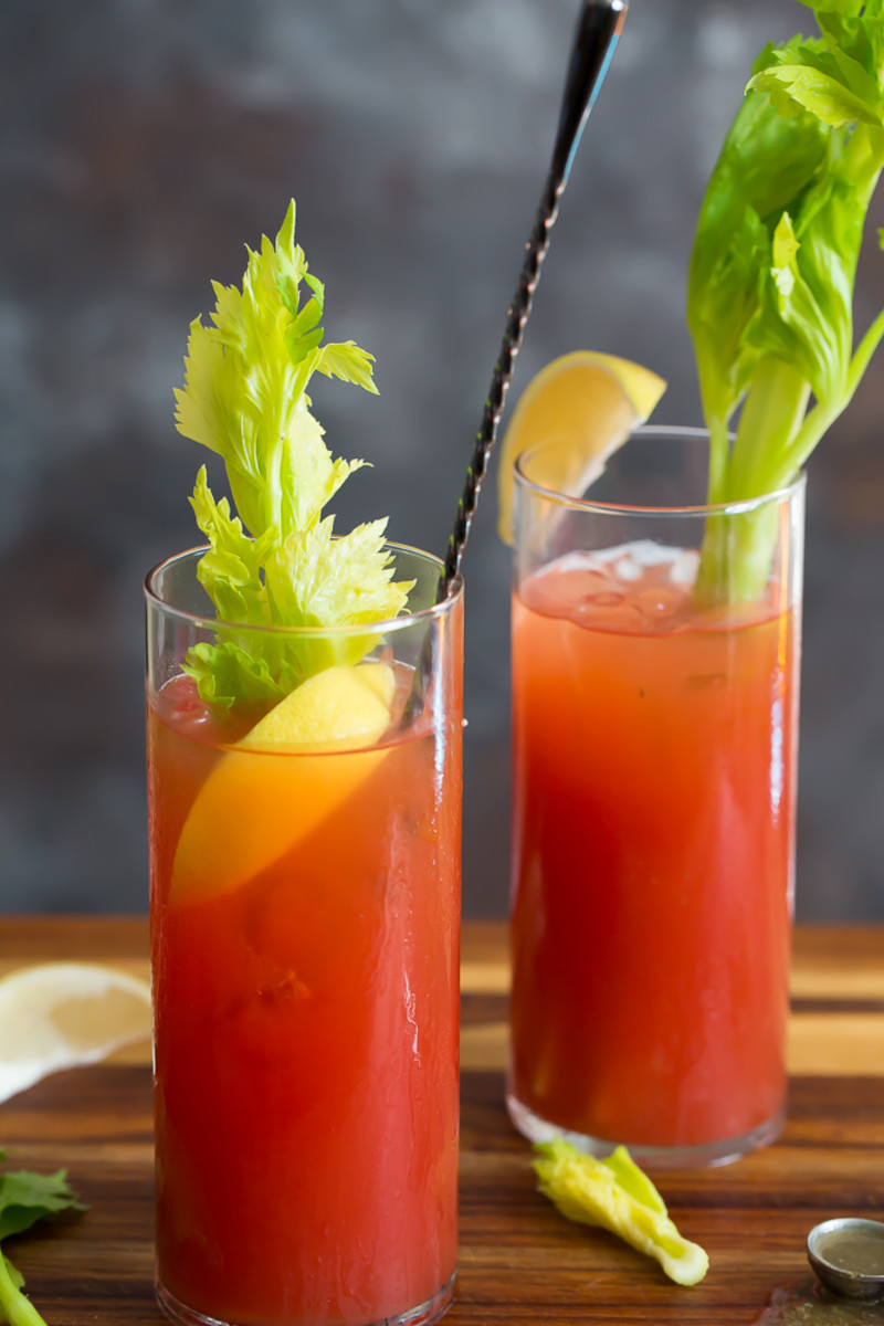 Thai Inspired Bloody Mary