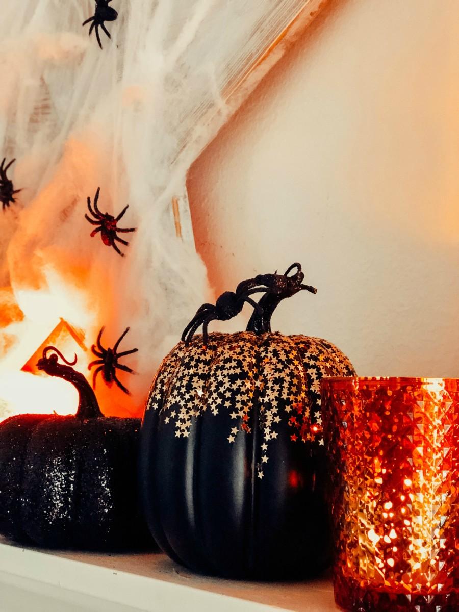 spooky spark pumpkins
