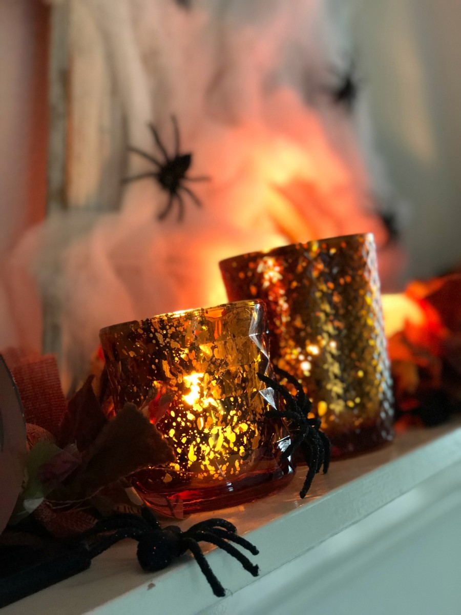spooky halloween votives