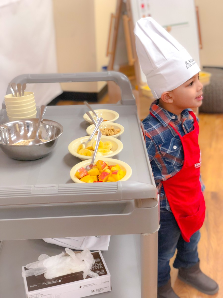cooking class for kids KinderCare