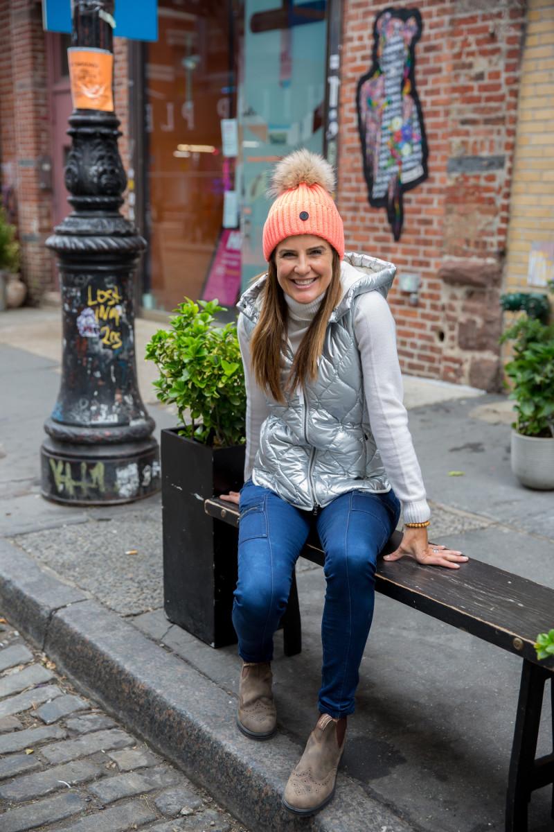 Bogner city chic takes on Manhattan