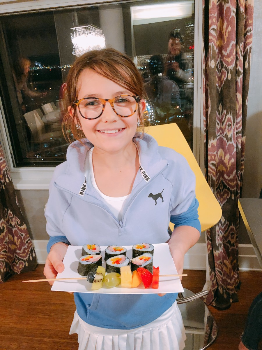 Sushi Making Party for Tweens