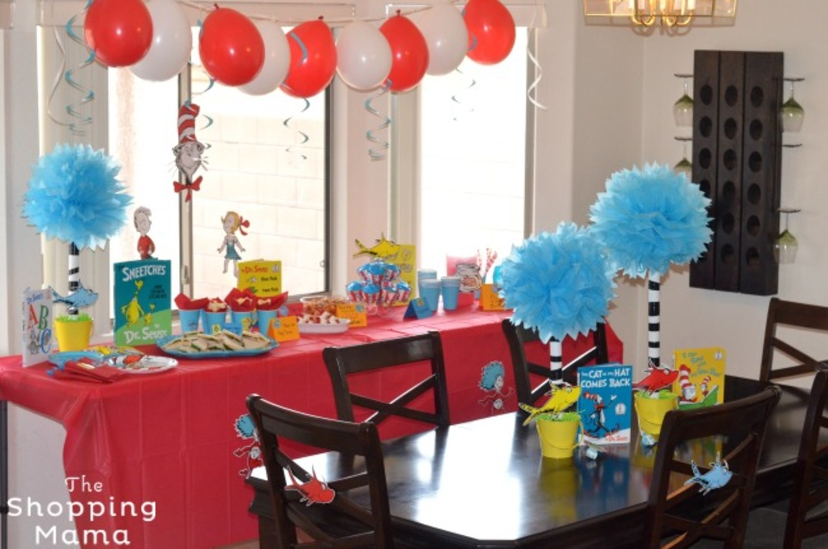 Fun And Creative Ideas To Throw Your Own Dr Seuss Party
