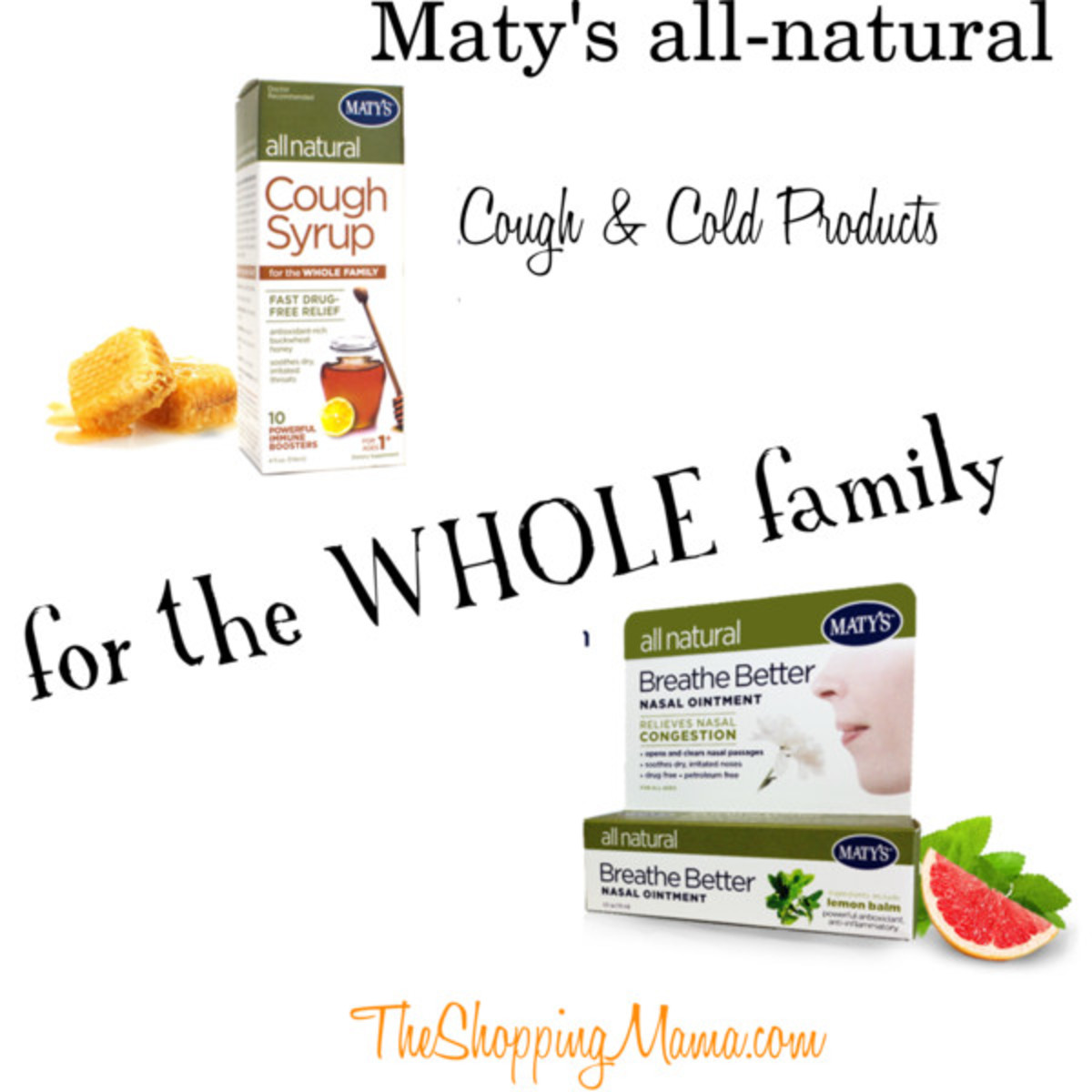 maty's cough and cold products