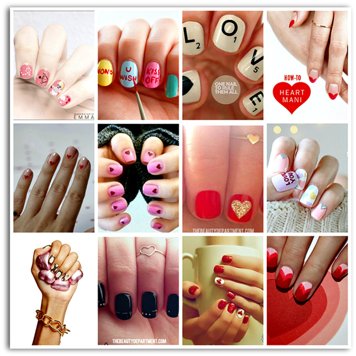 We heart nail art inspired v day manicures momtrends image placeholder title prinsesfo Image collections