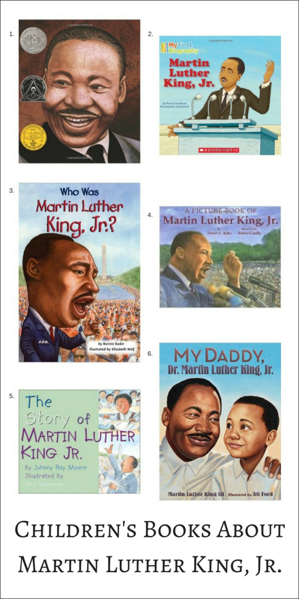 Children S Books For Martin Luther King Jr Day Momtrends