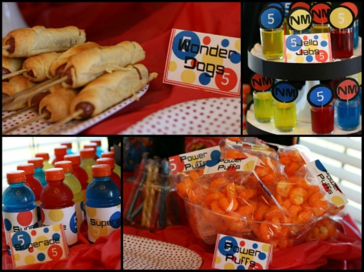 superhero party food ideas