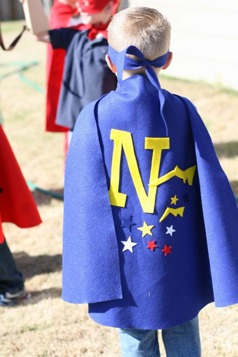 superhero party cape