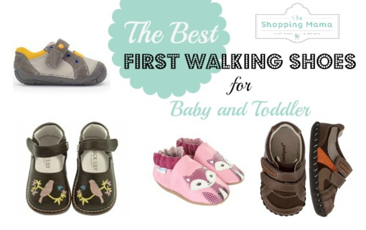 ecd917d7f7f3 Best First Walking Shoes For Baby and Toddler - MomTrends