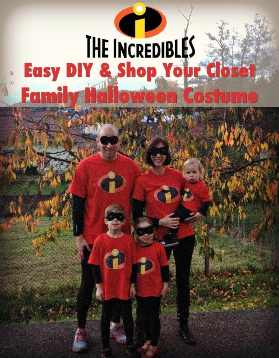 Image placeholder title & The Incredibles Easy DIY Family Halloween Costume - MomTrends