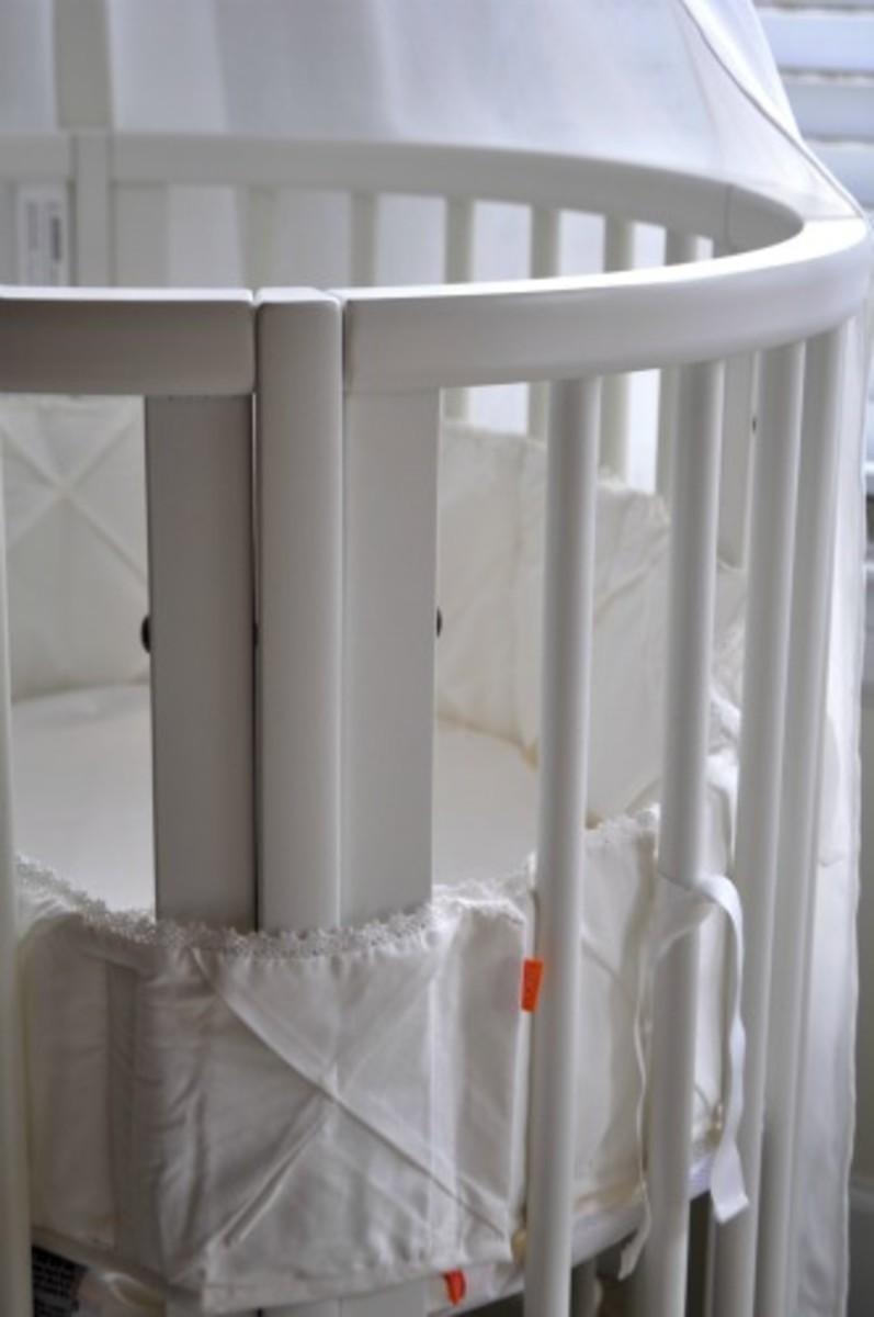 stokke sleepi white bedding 2