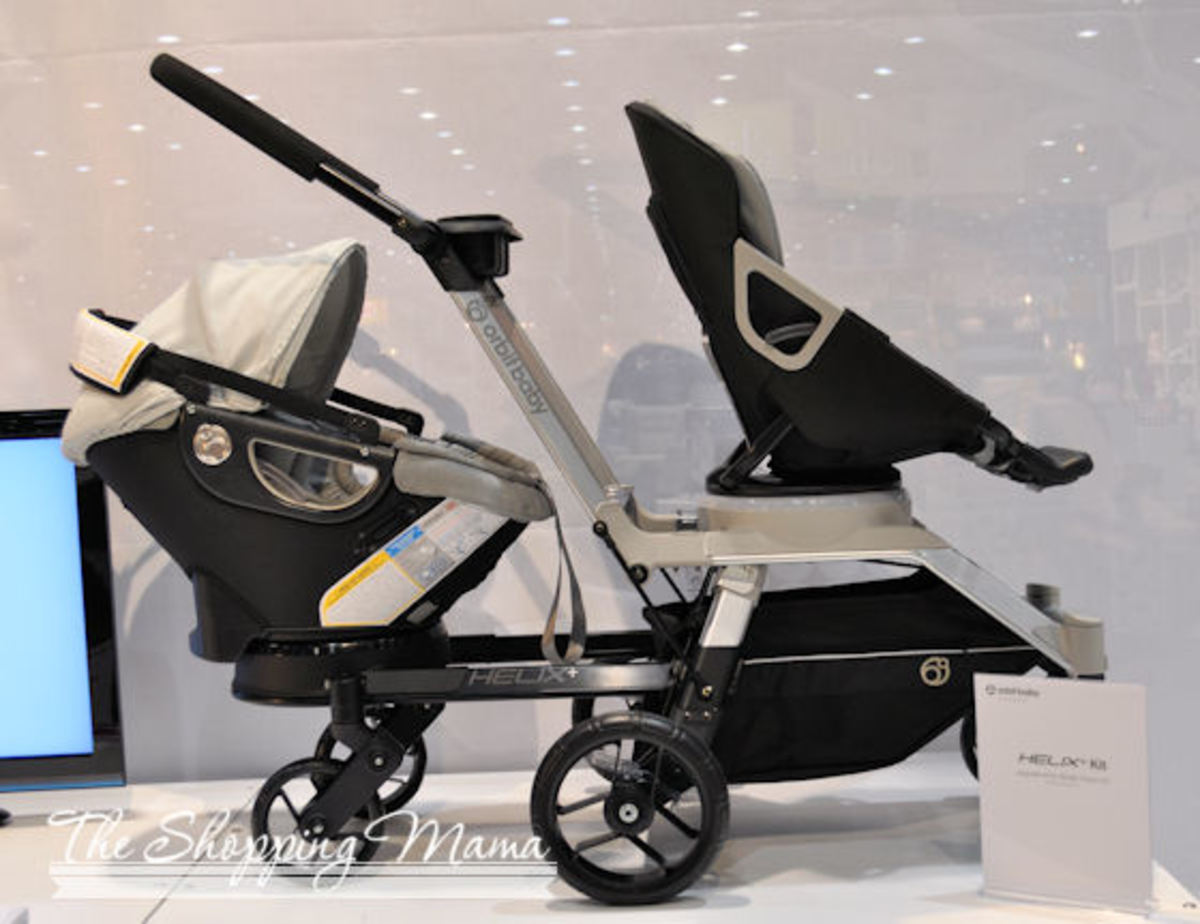 orbit double stroller helix g2 infant and toddler seat