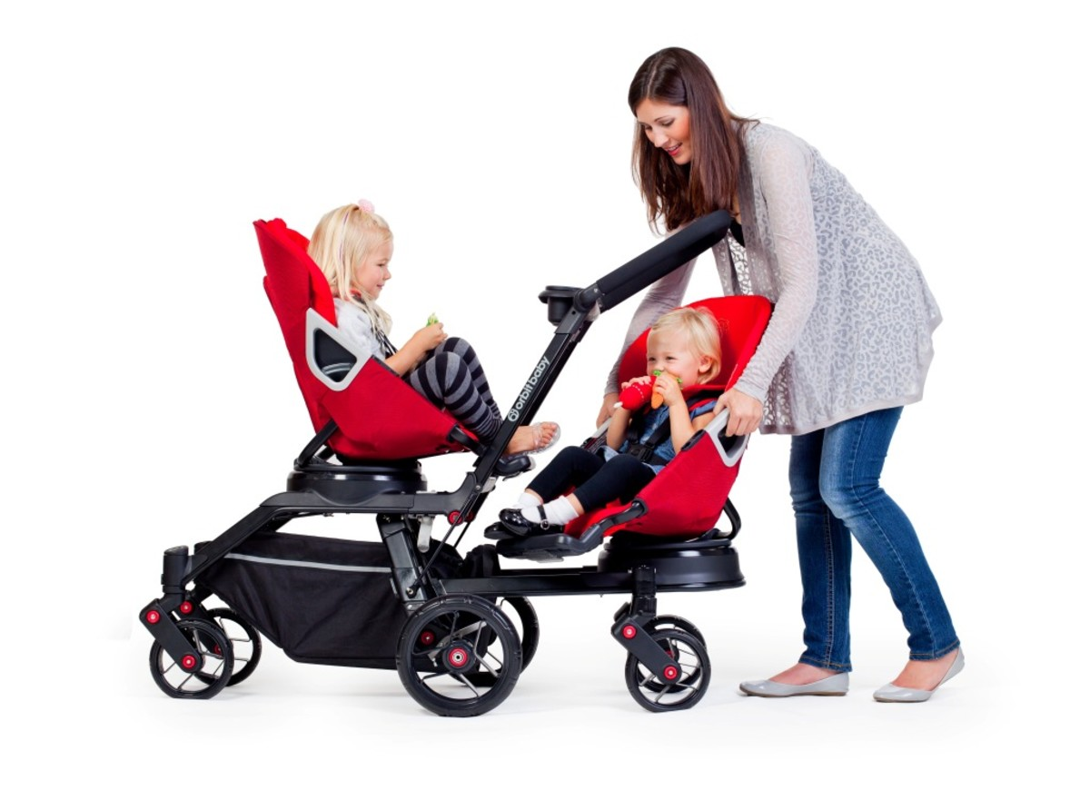 orbit baby double stroller helix