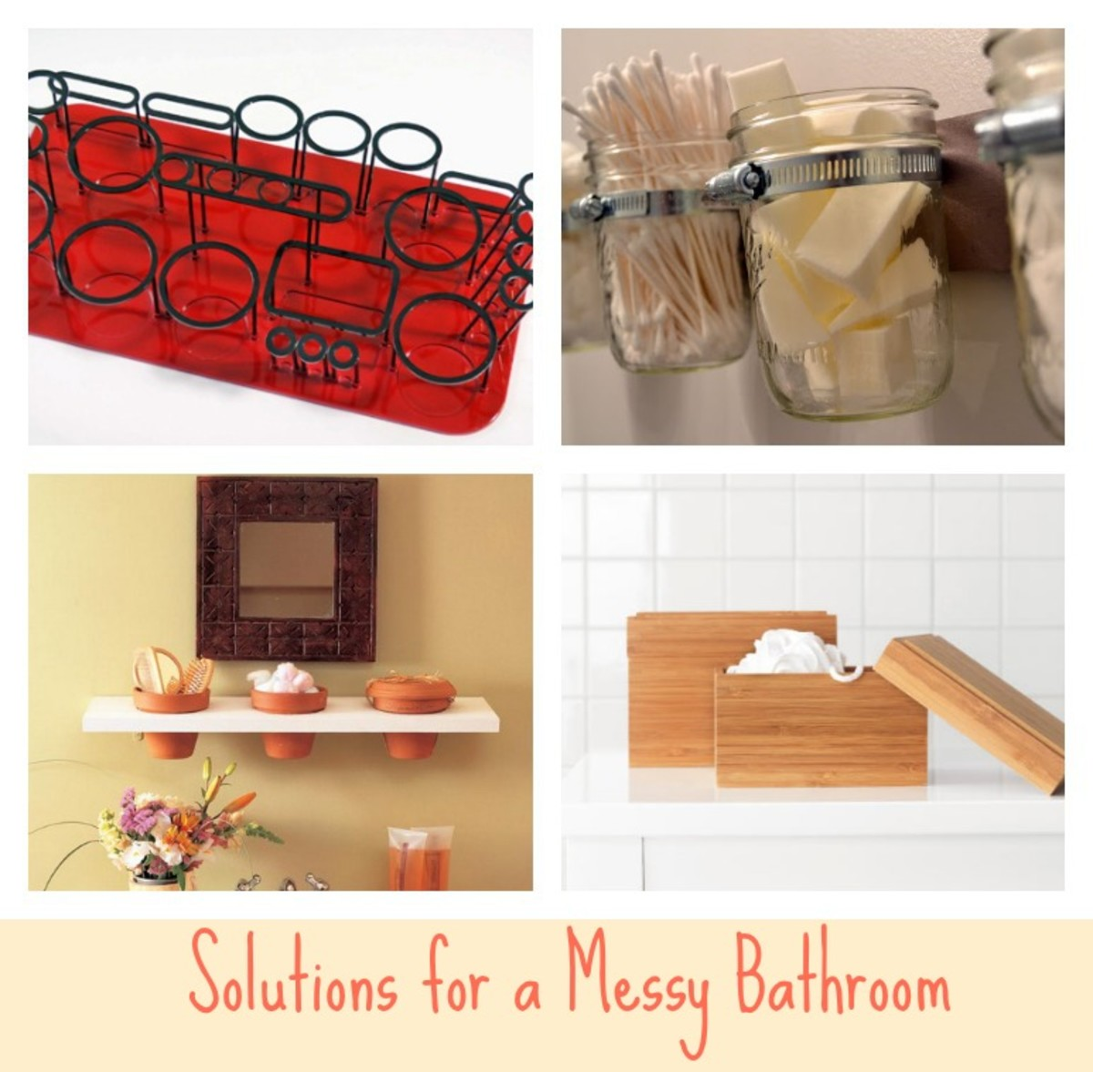 Messy Bathroom: Solutions For A Messy Bathroom