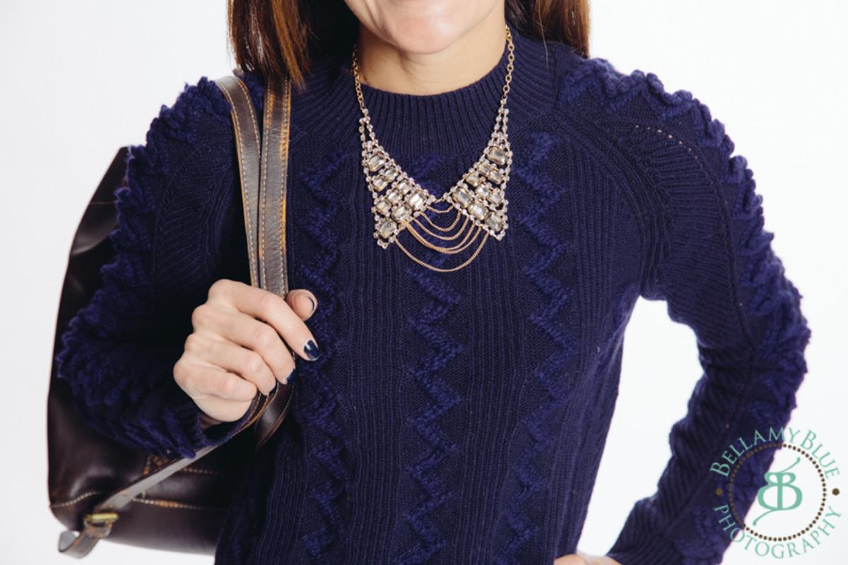 trendy collar necklace