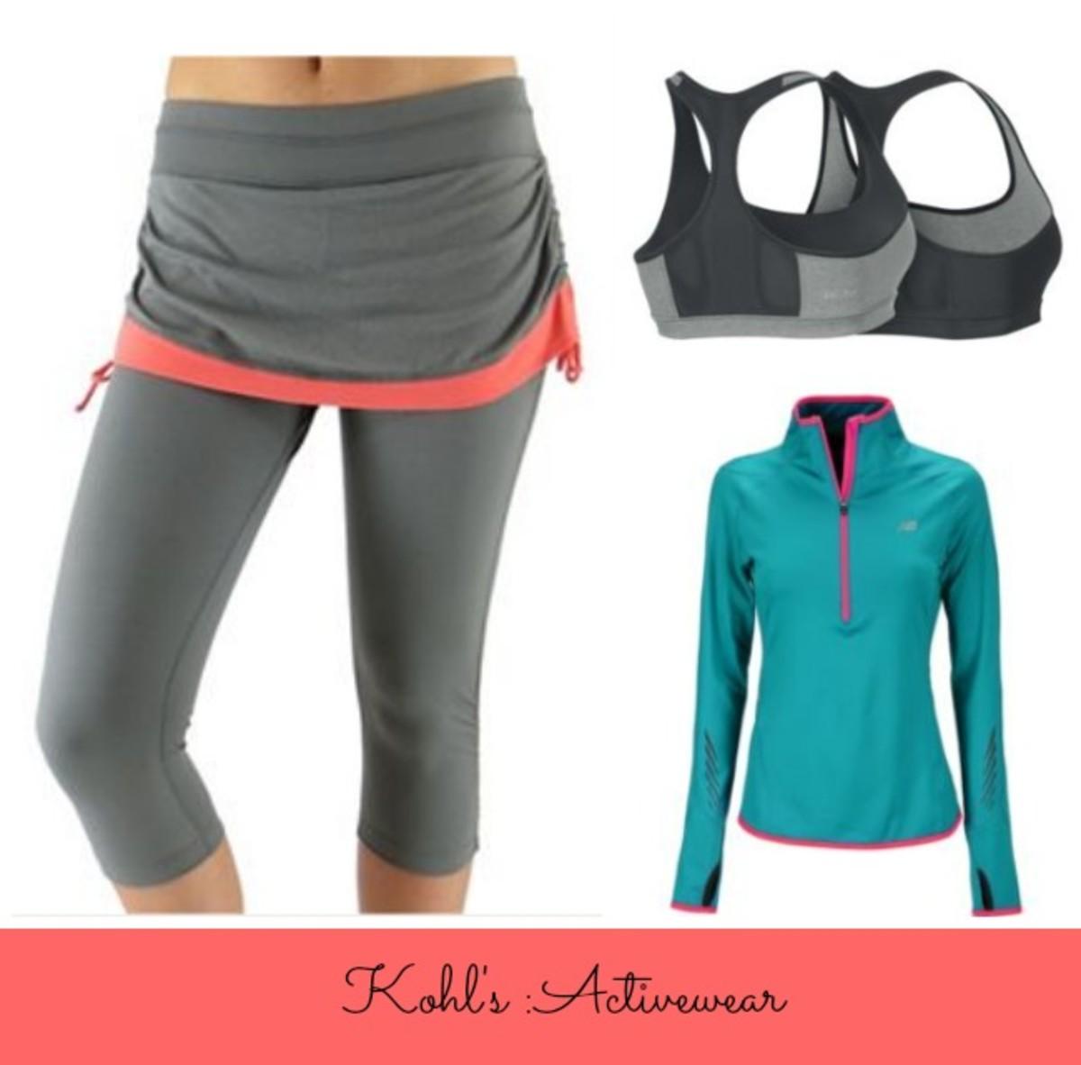 kohls workout gear