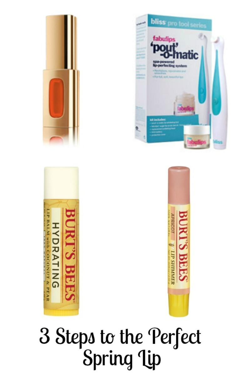 bold lip, orange lip, beauty buzz, bliss, l'oreal, burt's bees, spring beauty trend