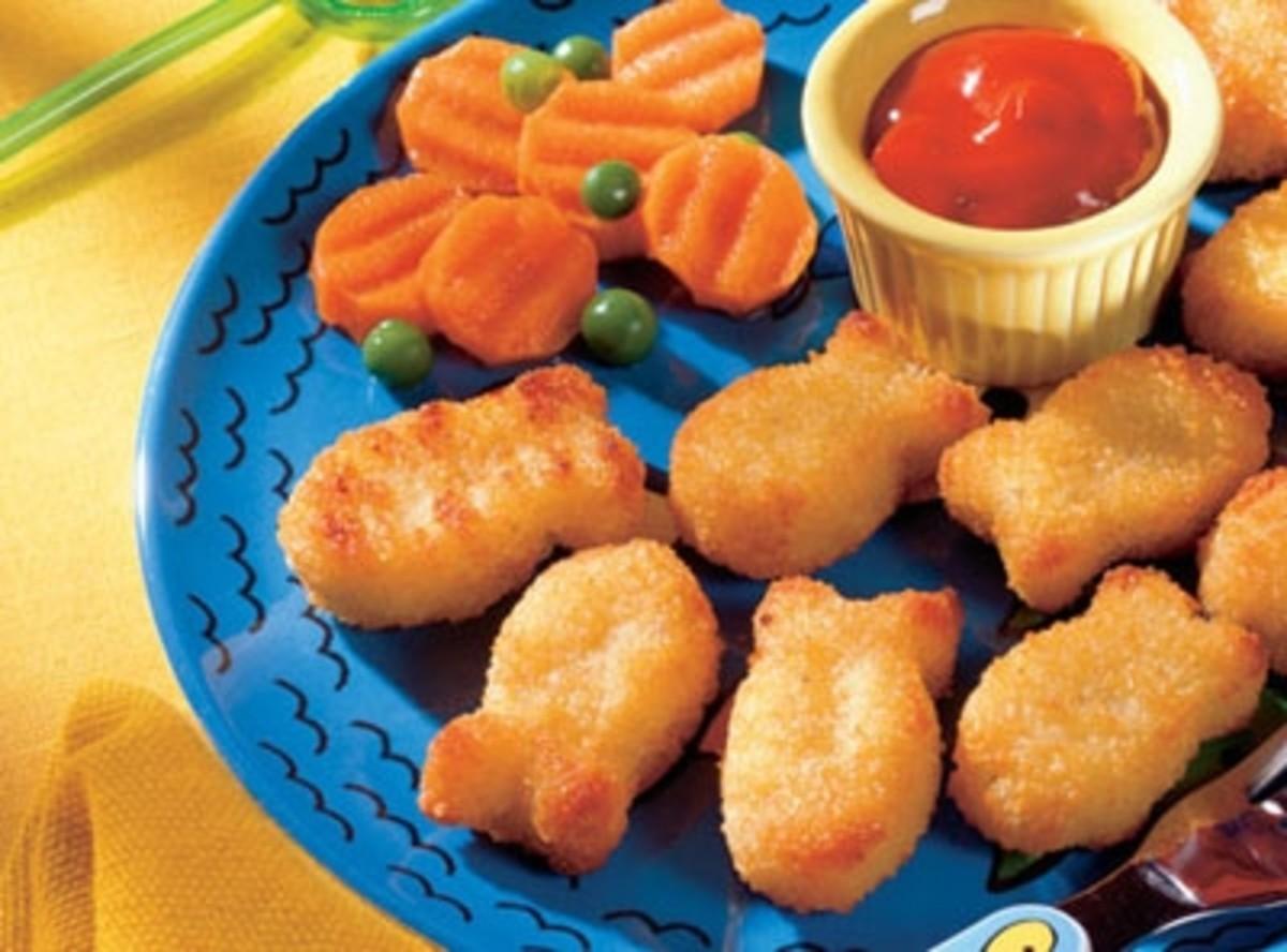 Dr. Praeger's Potato Crusted Fishies