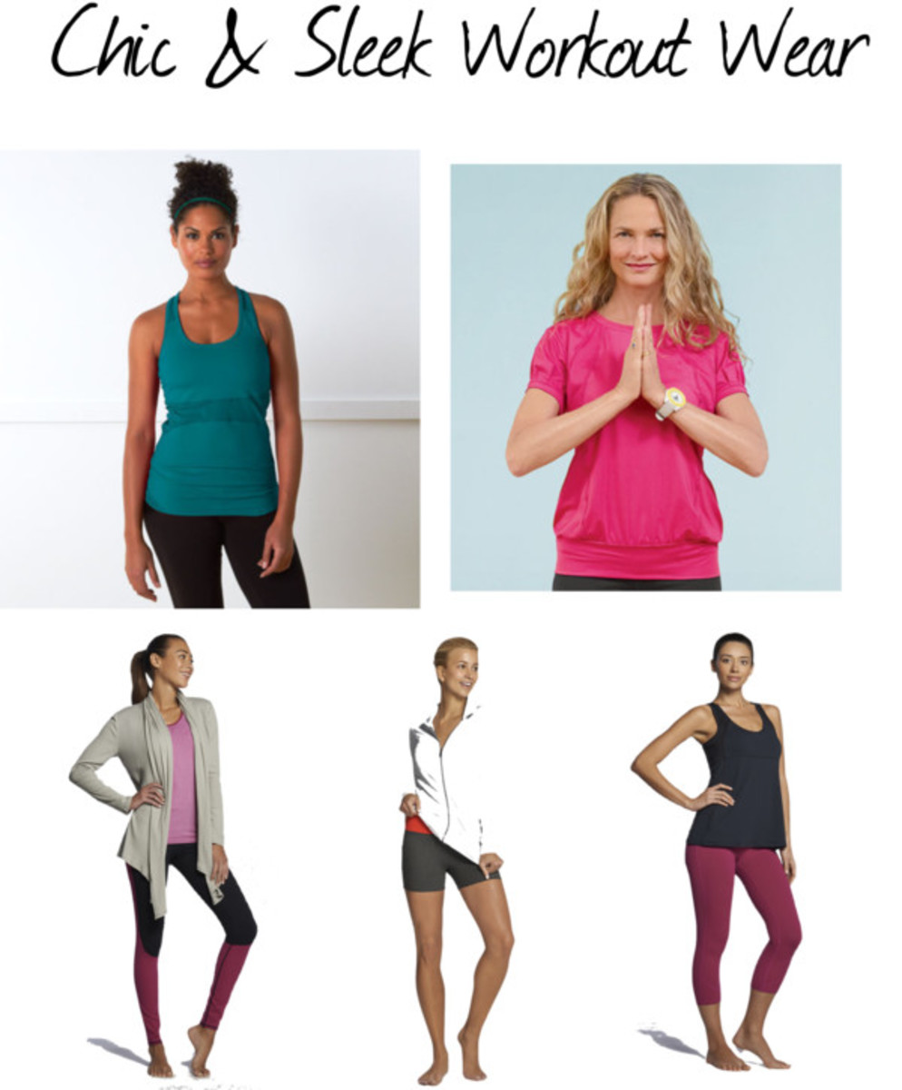 Chic and Sleek Workout Wear