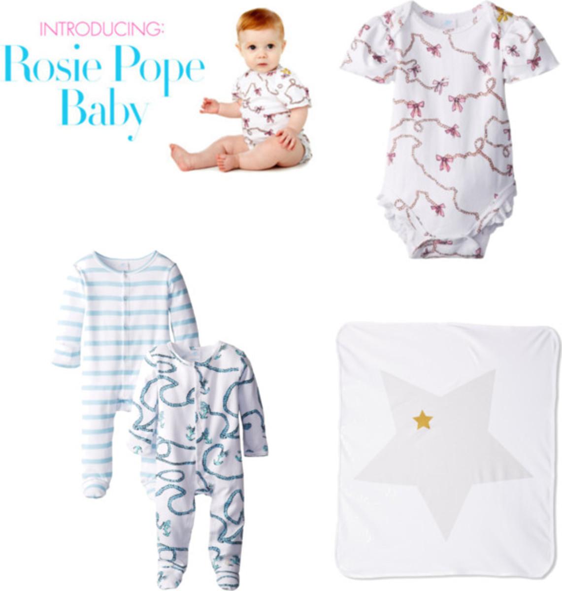 rosie pope baby
