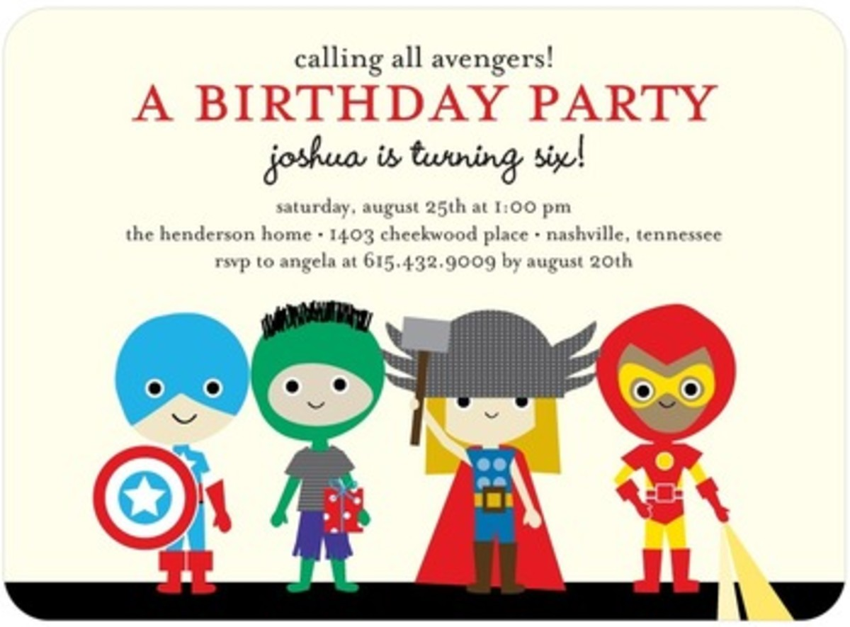 five great personalized birthday invitations for kids