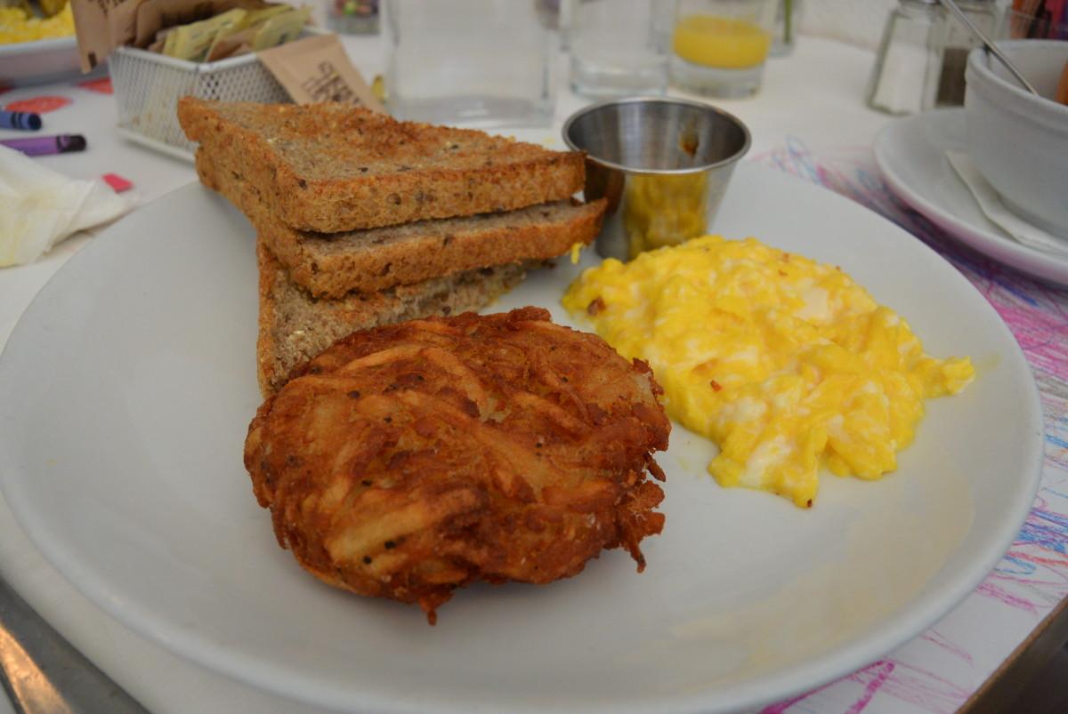 egg brunch review