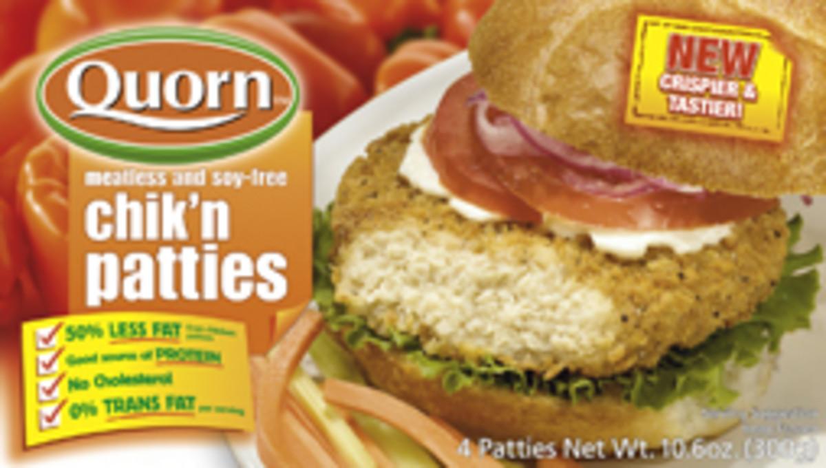 Quorn Chicken Patties
