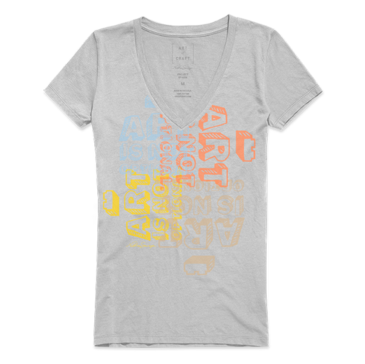 brickart_w_artisnotoptional_light_grey_v_neck_tee_shirt_large