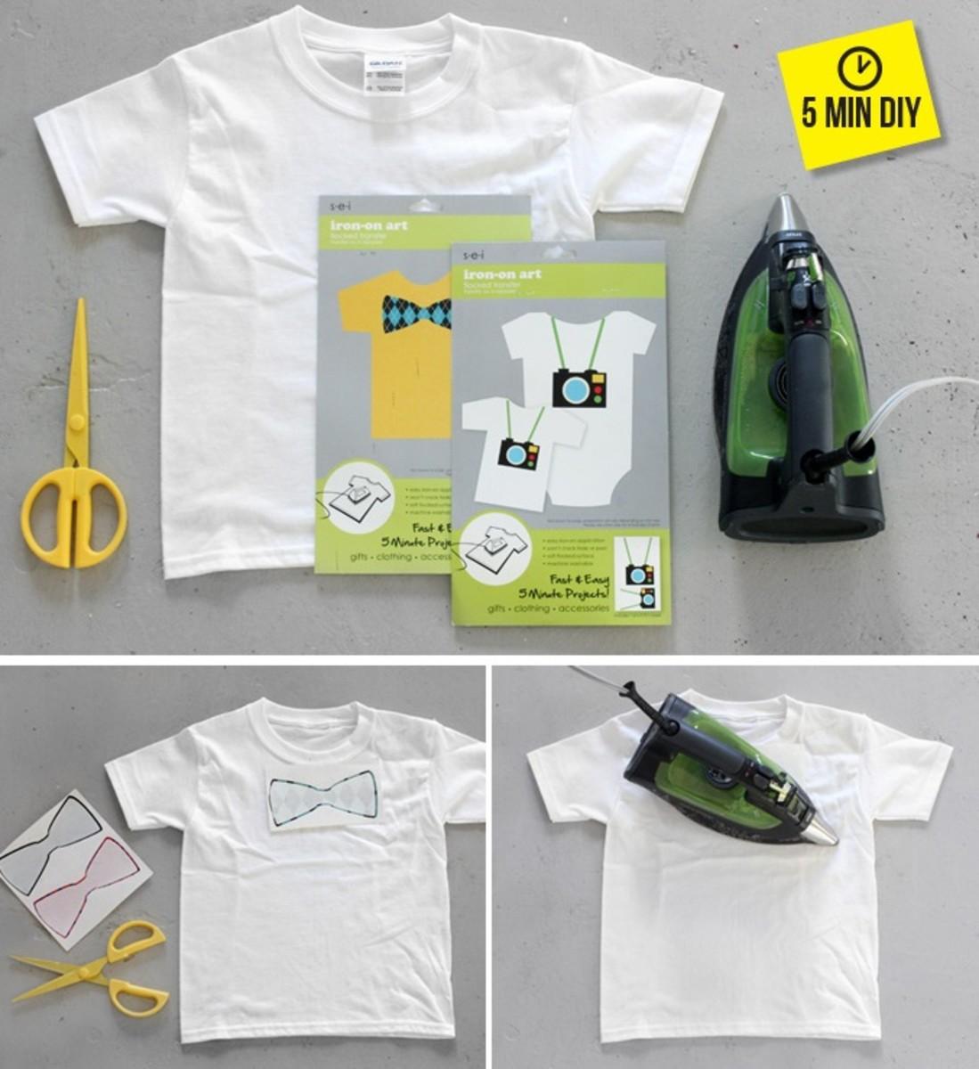 5 Minute Graphic DIY Kids Tee