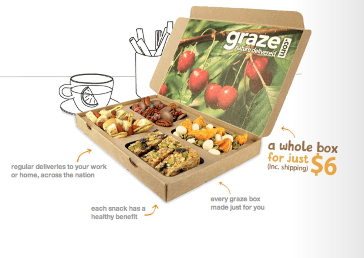 Healthier Snacking Company Graze.com